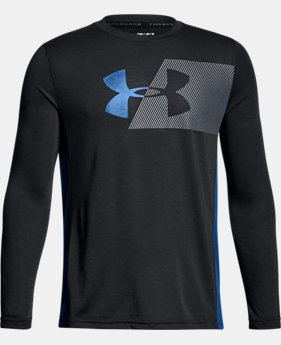 Boys' UA Siro Tech Long Sleeve  1  Color $38