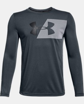 New Arrival Boys' UA Threadborne Tech Long Sleeve  2 Colors $30