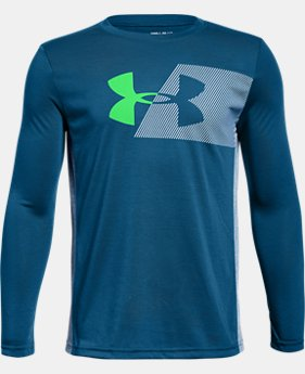 Boys' UA Siro Tech Long Sleeve  1  Color Available $30
