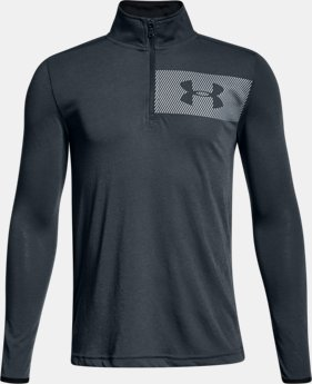 Boys' UA Siro ¼  Zip  3  Colors Available $35