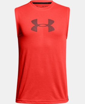 Boys' UA Siro Tech Tank LIMITED TIME: FREE U.S. SHIPPING 1  Color Available $28