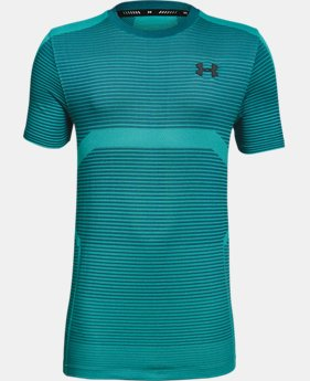 New Arrival Boys' UA X Level Seamless T-Shirt  3  Colors $30