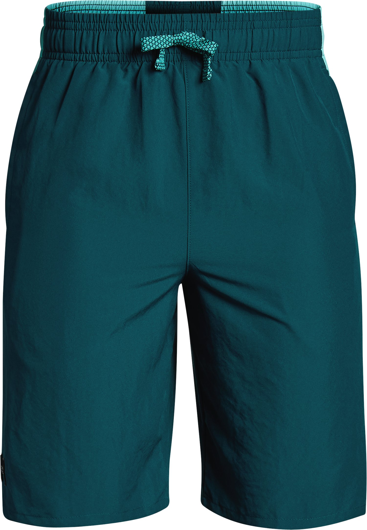 Boys' UA X Level Shorts, TOURMALINE TEAL,