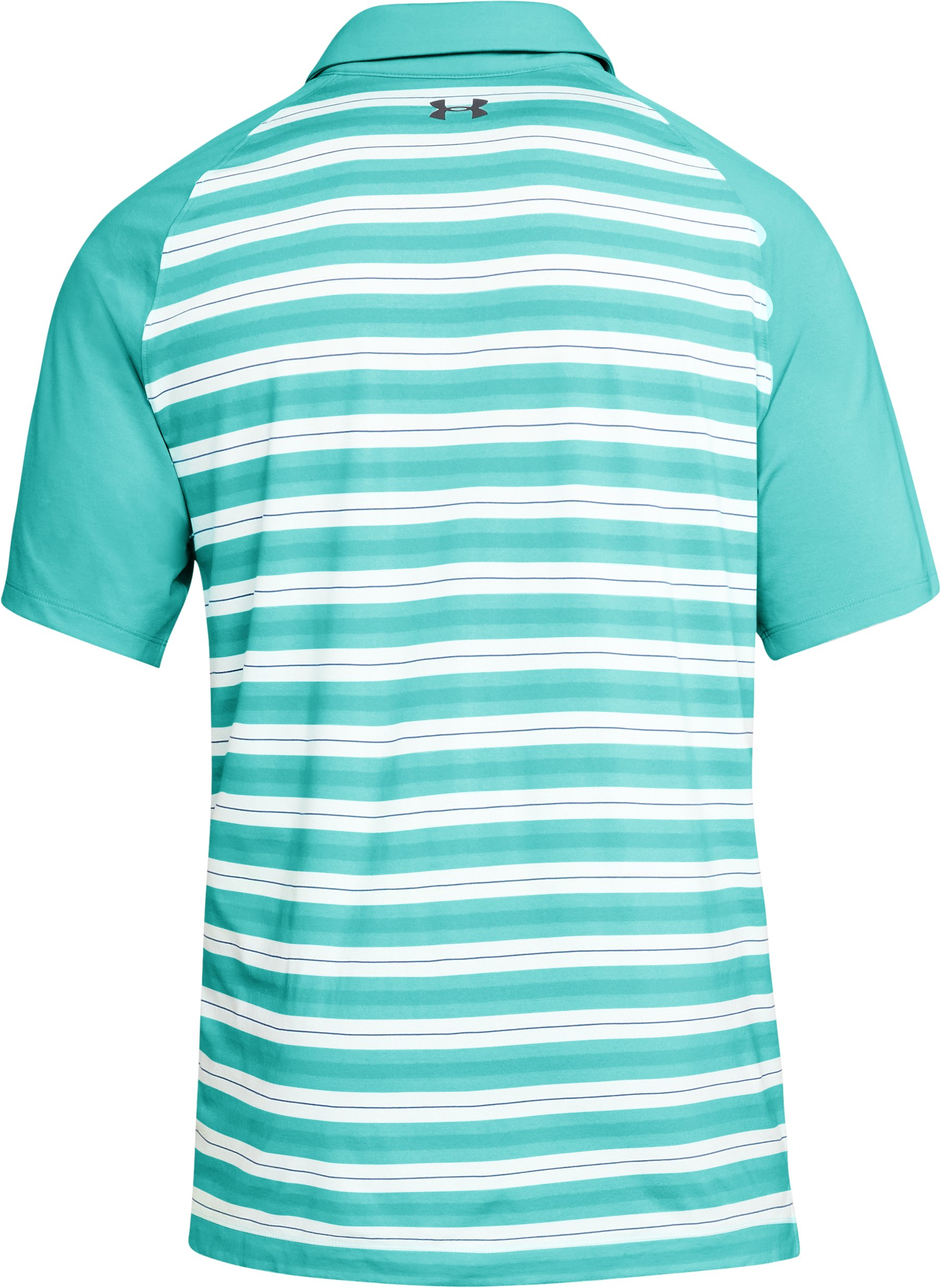 Men's UA Threadborne Boundless Polo, TROPICAL TIDE,