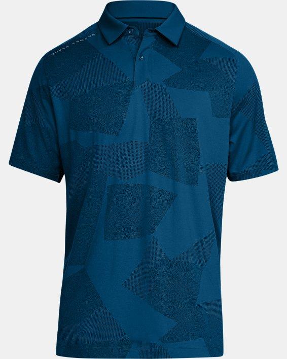 Men's UA Threadborne Limitless Polo, Blue, pdpMainDesktop image number 4