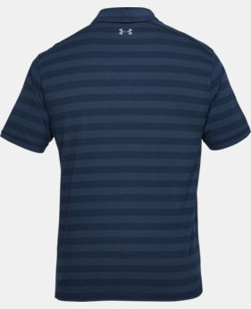 New Arrival  Men's Charged Cotton® Scramble Stripe Polo  1 Color $60