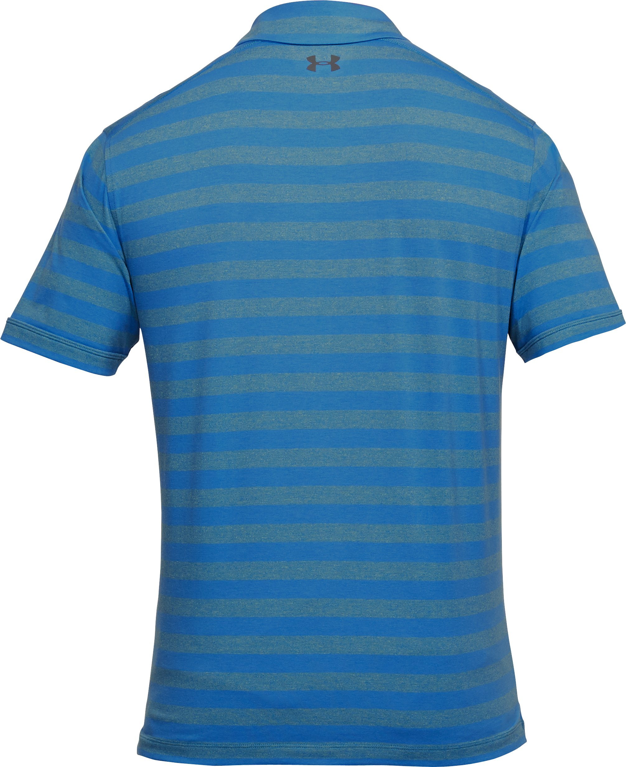 Men's Charged Cotton® Scramble Stripe Polo, Mediterranean,