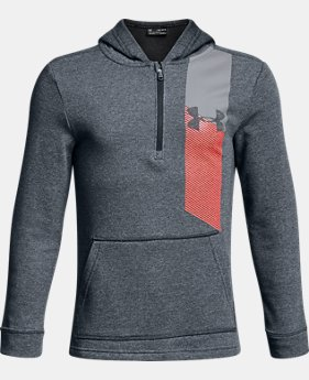 New to Outlet Boys' UA Microthread Terry ¼ Zip Hoodie  2  Colors Available $33.75 to $33.99