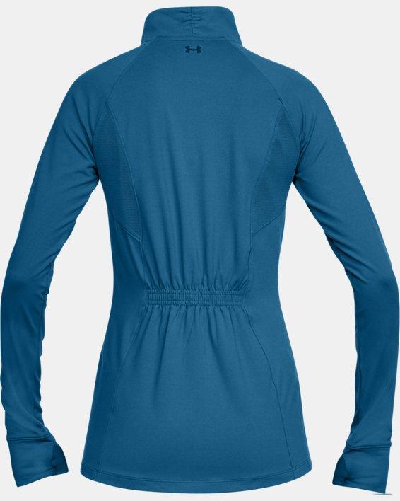 Women's UA Zinger Full Zip, Blue, pdpMainDesktop image number 4
