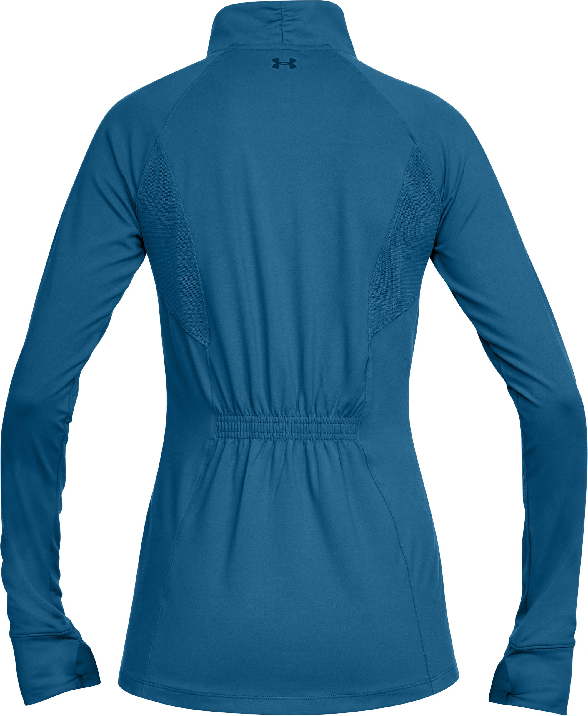 Women's UA Zinger Full Zip, MOROCCAN BLUE,