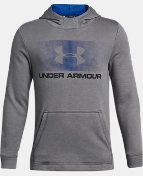 Boys' UA French Terry Hoodie  3 Colors $45