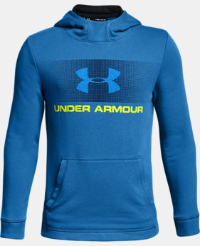 Boys' UA French Terry Hoodie  1  Color Available $45
