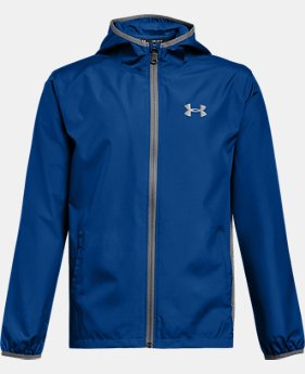 Boys' UA Sackpack Jacket  1  Color $60