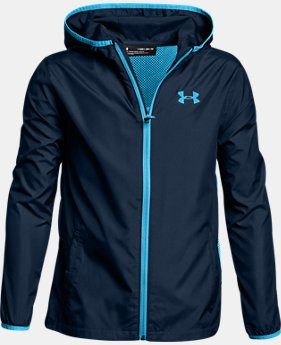 New Arrival  Boys' UA Sackpack Jacket  1 Color $75