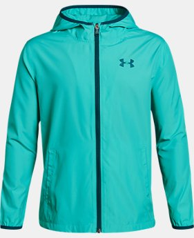 Boys' UA Sackpack Jacket  2  Colors Available $36 to $45