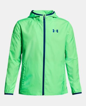 2384774509 Boys' Green Kids (Size 8+) Jackets & Vests | Under Armour US