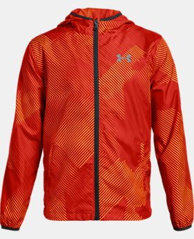 Boys' UA Sackpack Jacket  5  Colors Available $36 to $45