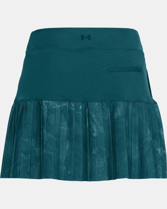 Women's UA Links Knit Skort, Green, pdpMainDesktop image number 4