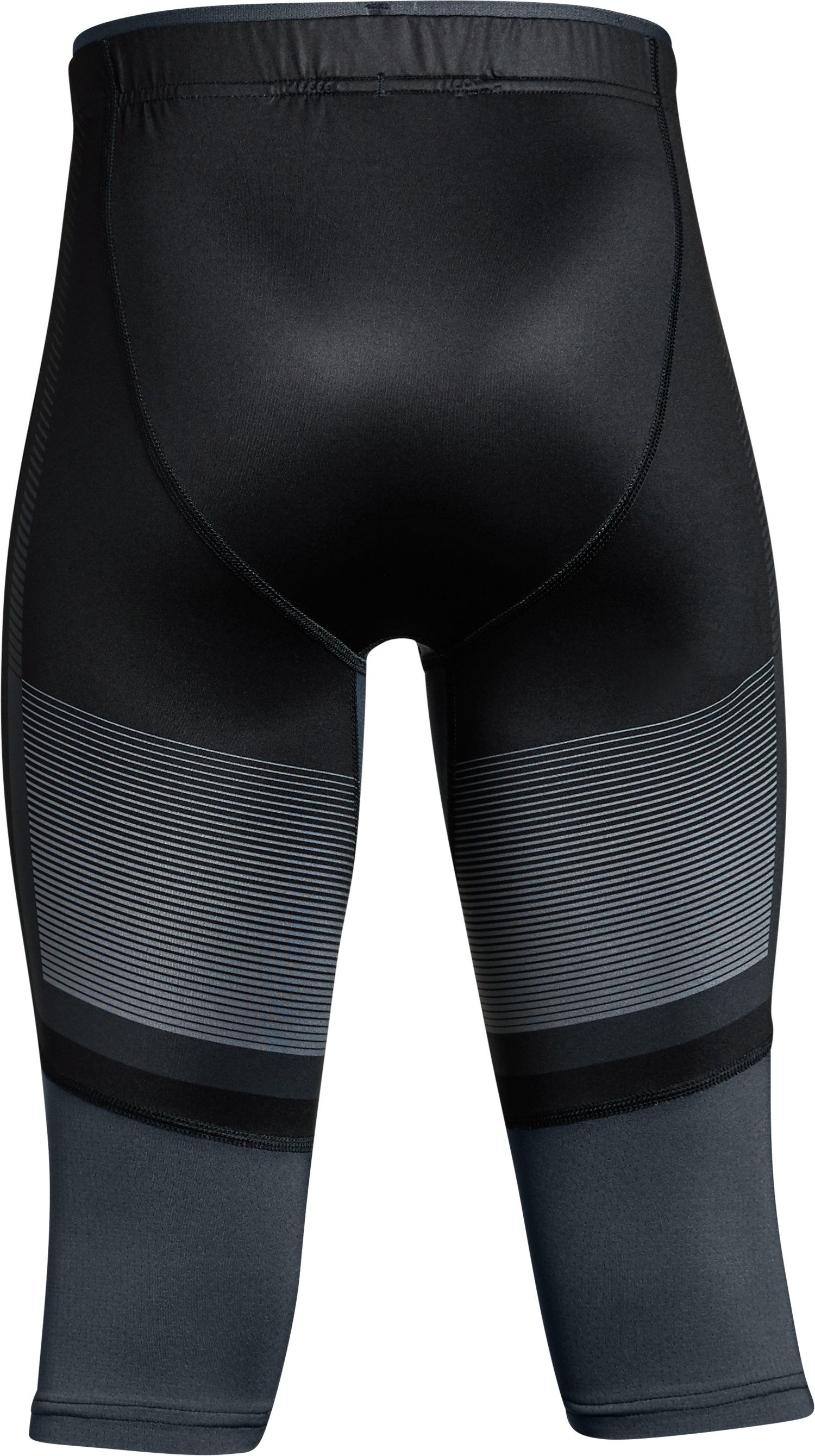 Boys' UA X Level Knee Tights, Black , undefined