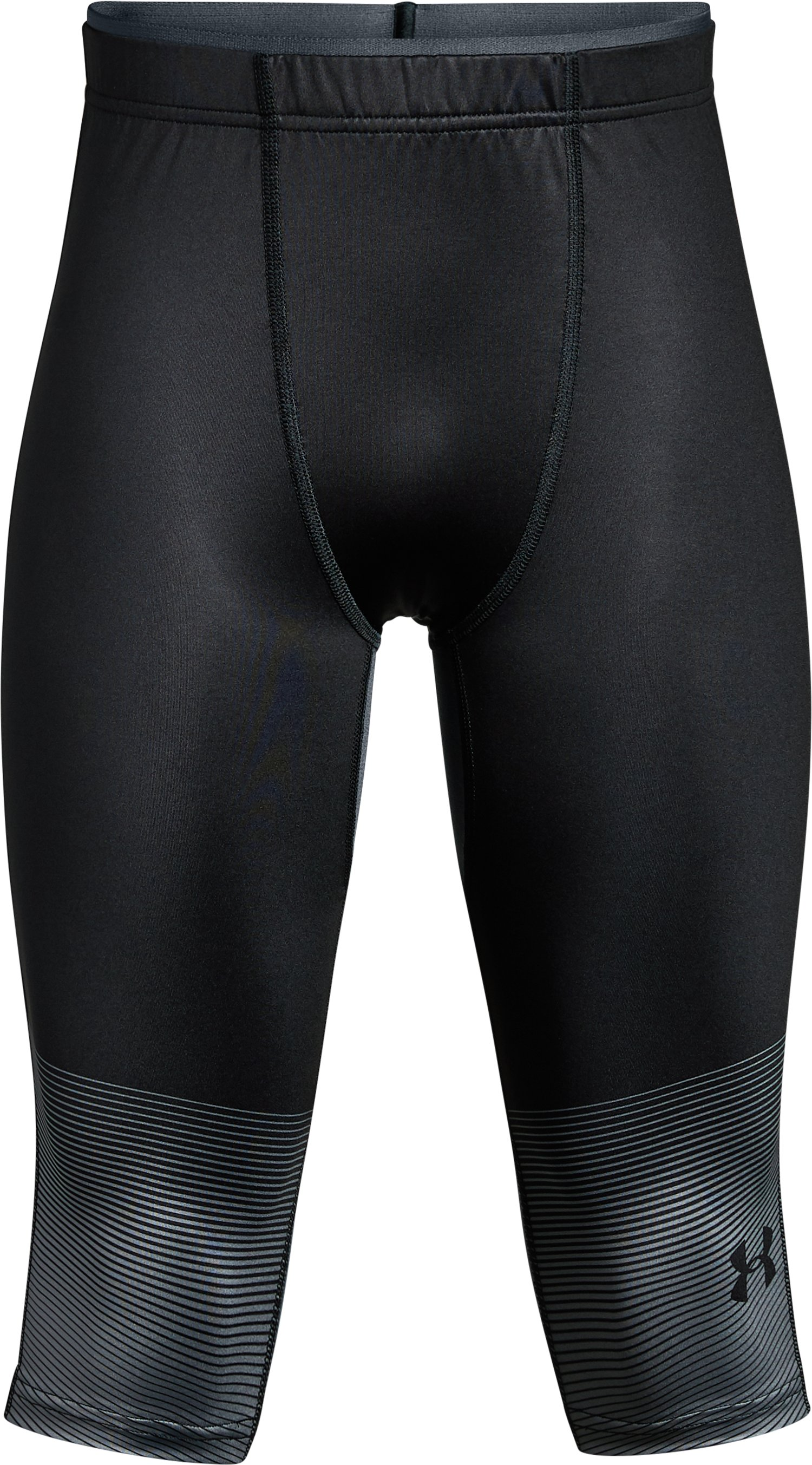 Boys' UA X Level Knee Tights, Black