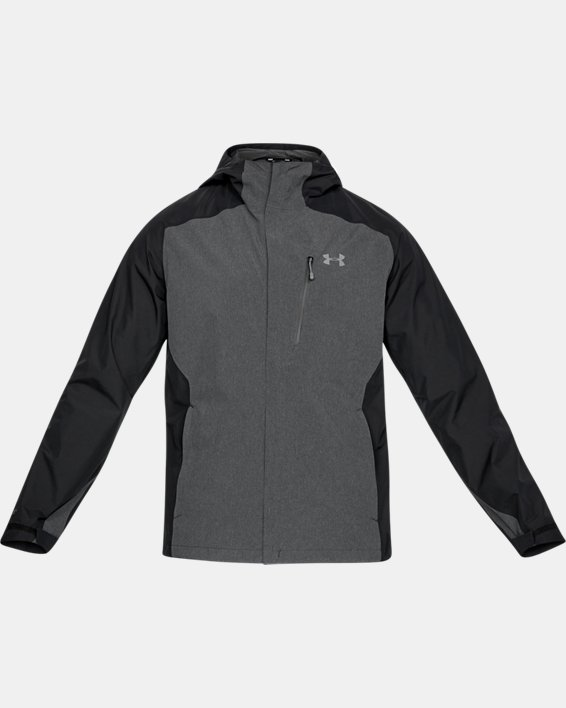 Men's UA Roam Paclite Jacket, Black, pdpMainDesktop image number 3