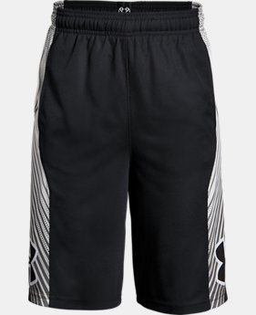 New Arrival  Boys' UA Space the Floor Shorts LIMITED TIME: FREE SHIPPING 1 Color $38