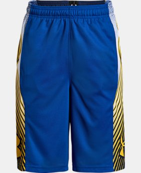 Boys' UA Space the Floor Shorts  1  Color Available $30