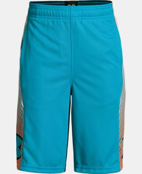 Boys' UA Space the Floor Shorts  3  Colors Available $22.5 to $22.99