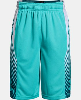 Boys' UA Space the Floor Shorts  8 Colors $30