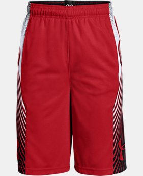 Boys' UA Space the Floor Shorts LIMITED TIME: FREE U.S. SHIPPING 3 Colors $30