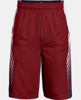 New Arrival Boys' UA Space the Floor Shorts  2 Colors $30