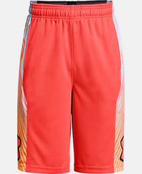 Boys' UA Space the Floor Shorts  3  Colors Available $22.5