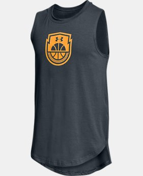 New Arrival Boys' UA Baseline Tank  2 Colors $25