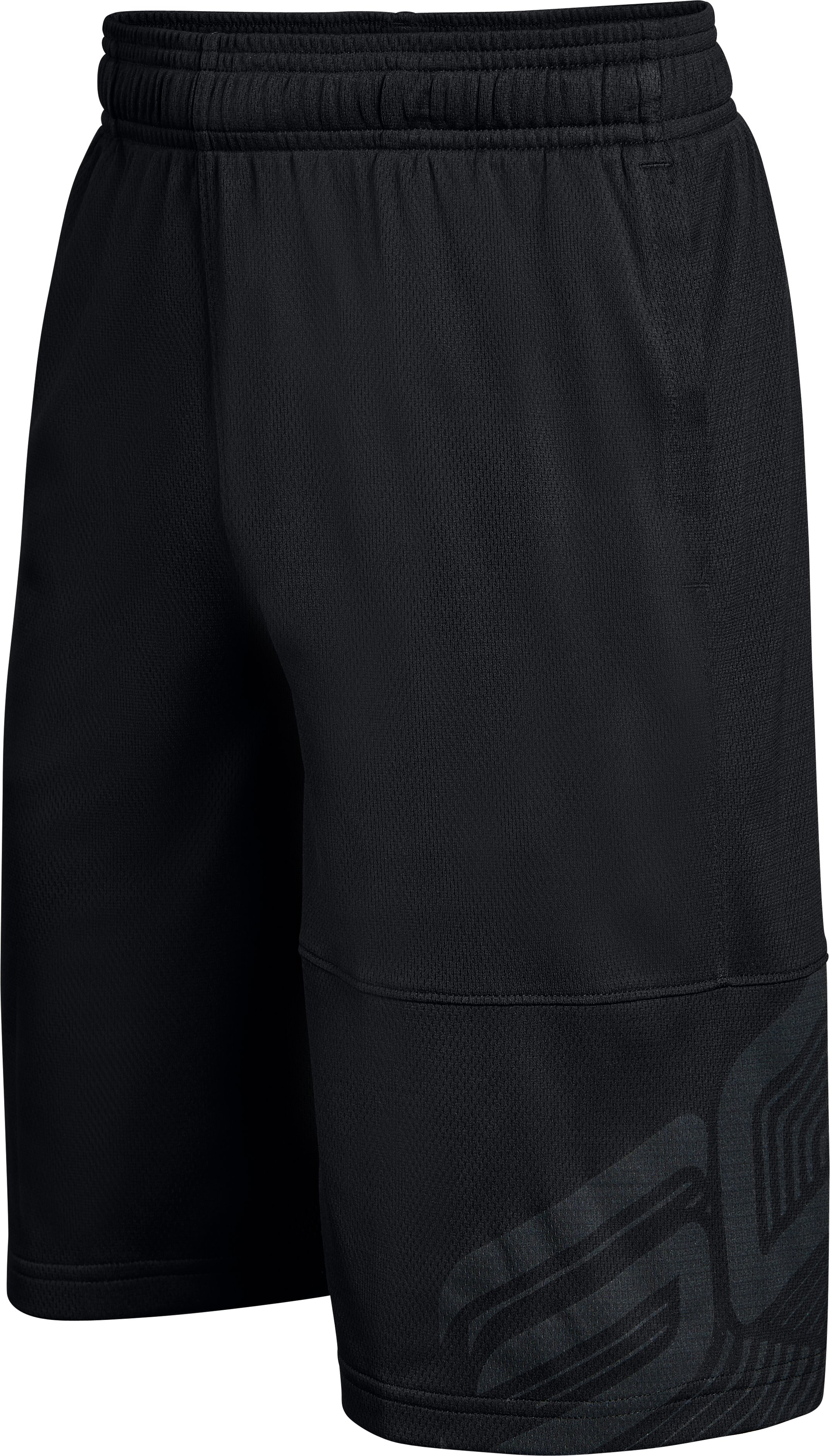 Boys' SC30 Shorts, Black , zoomed