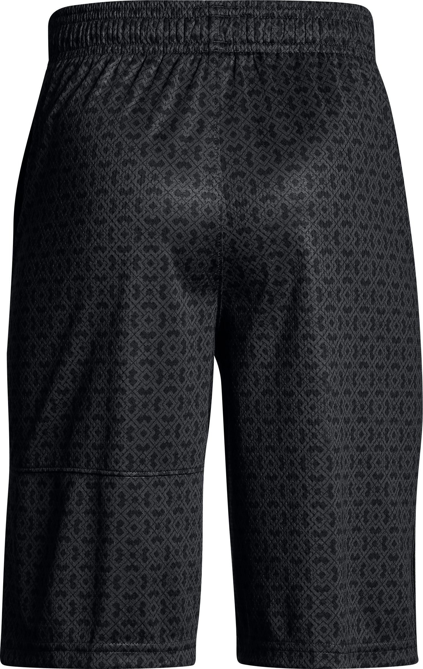 Boys' SC30 Printed Shorts, Black ,