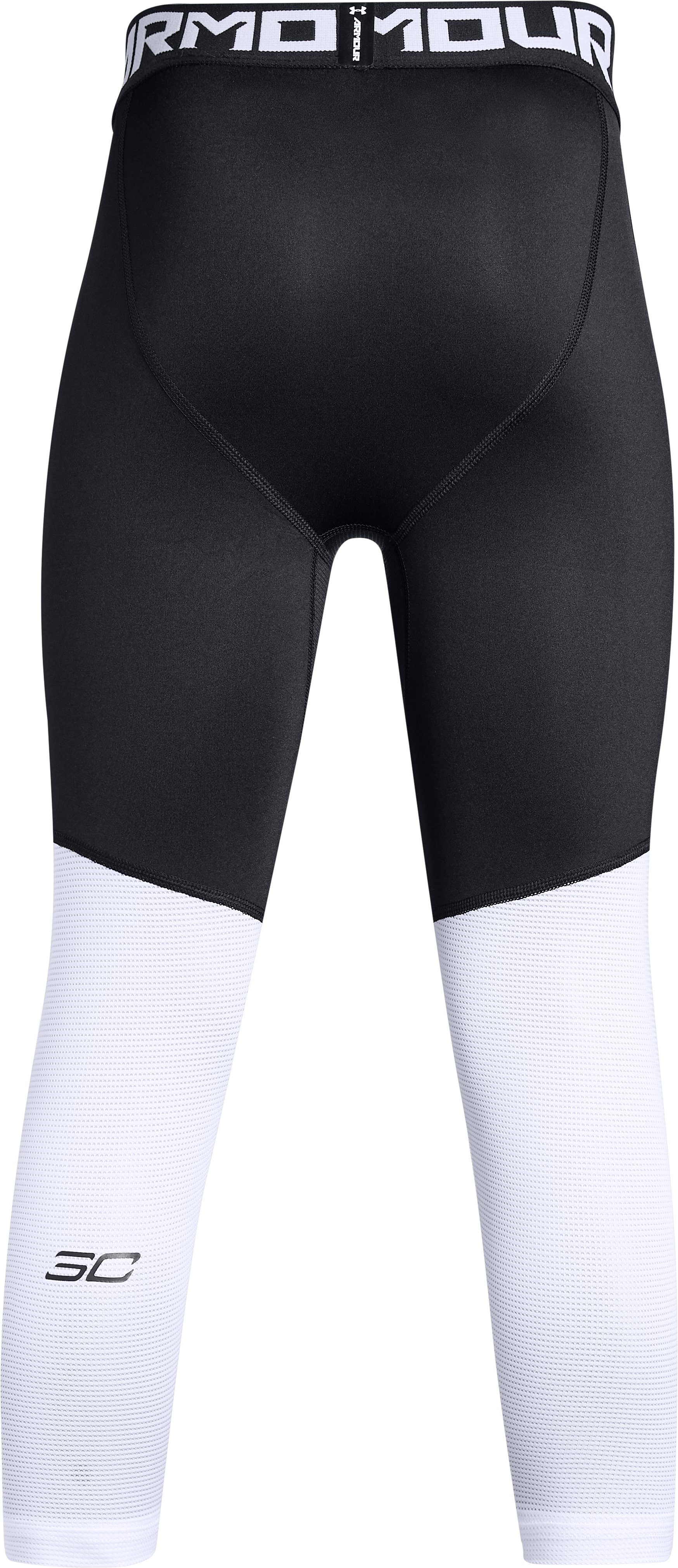 Boys' SC30 ¾ Leggings, Black , undefined