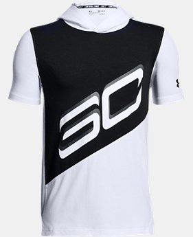 Boys' SC30 Short Sleeve Hoodie  1 Color $40