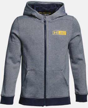Boys' SC30 Full Zip Hoodie  1  Color Available $36