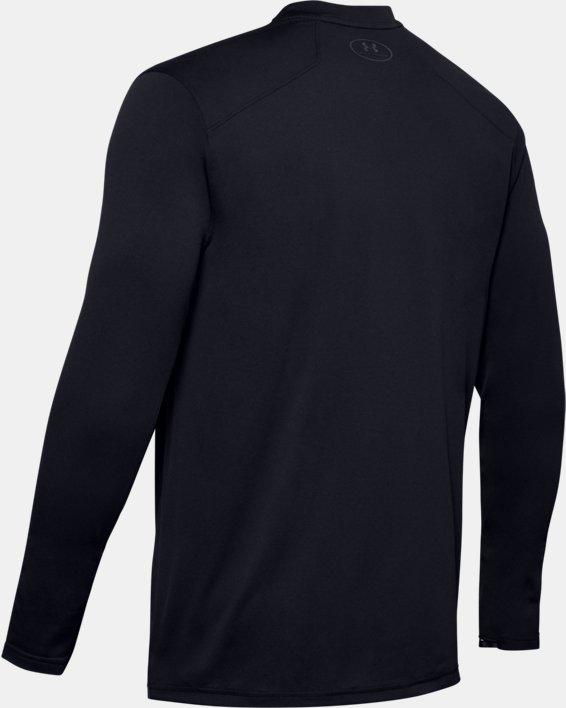 Men's UA Sunblock Long Sleeve, Black, pdpMainDesktop image number 5