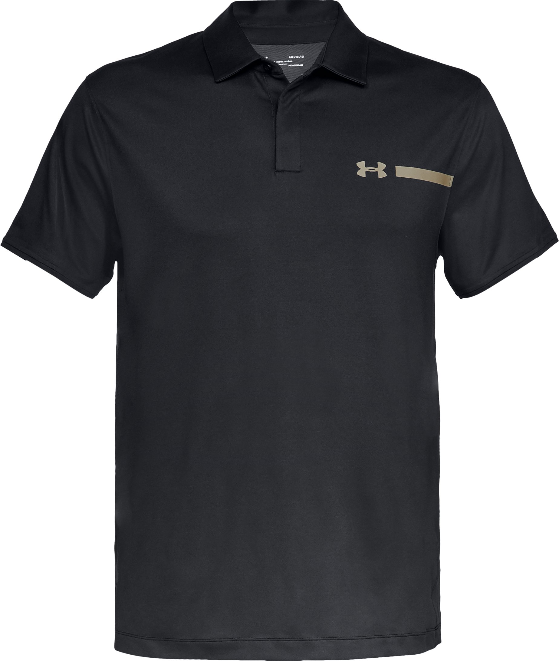 Men's UA Perpetual Fade Polo, Black ,