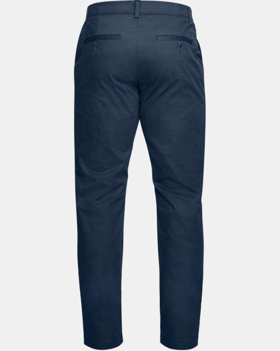 Men's UA Showdown Chino Tapered Pants, Navy, pdpMainDesktop image number 5