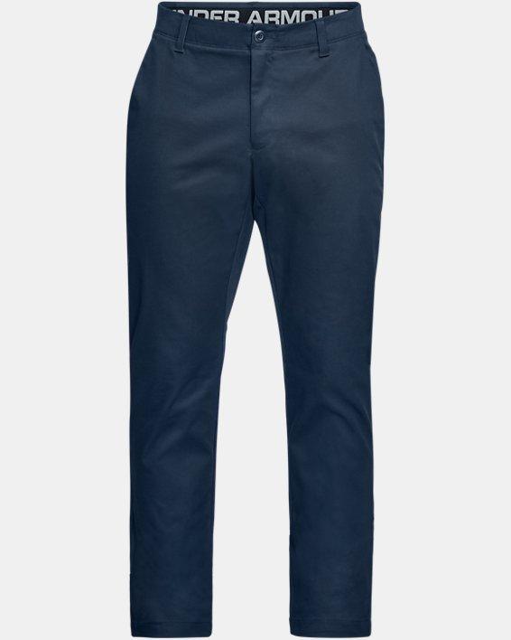 Men's UA Showdown Chino Tapered Pants, Navy, pdpMainDesktop image number 4