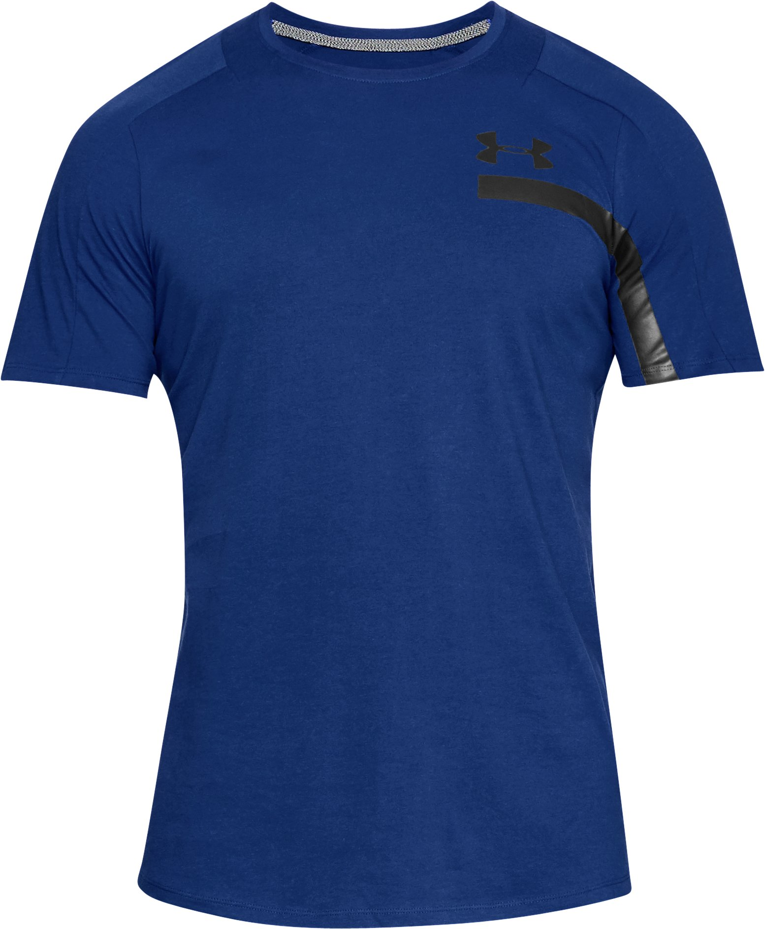 Men's UA Perpetual Graphic Short Sleeve, FORMATION BLUE,