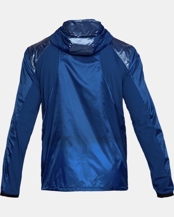 Men's UA Perpetual Full Zip Jacket, Blue, pdpMainDesktop image number 5