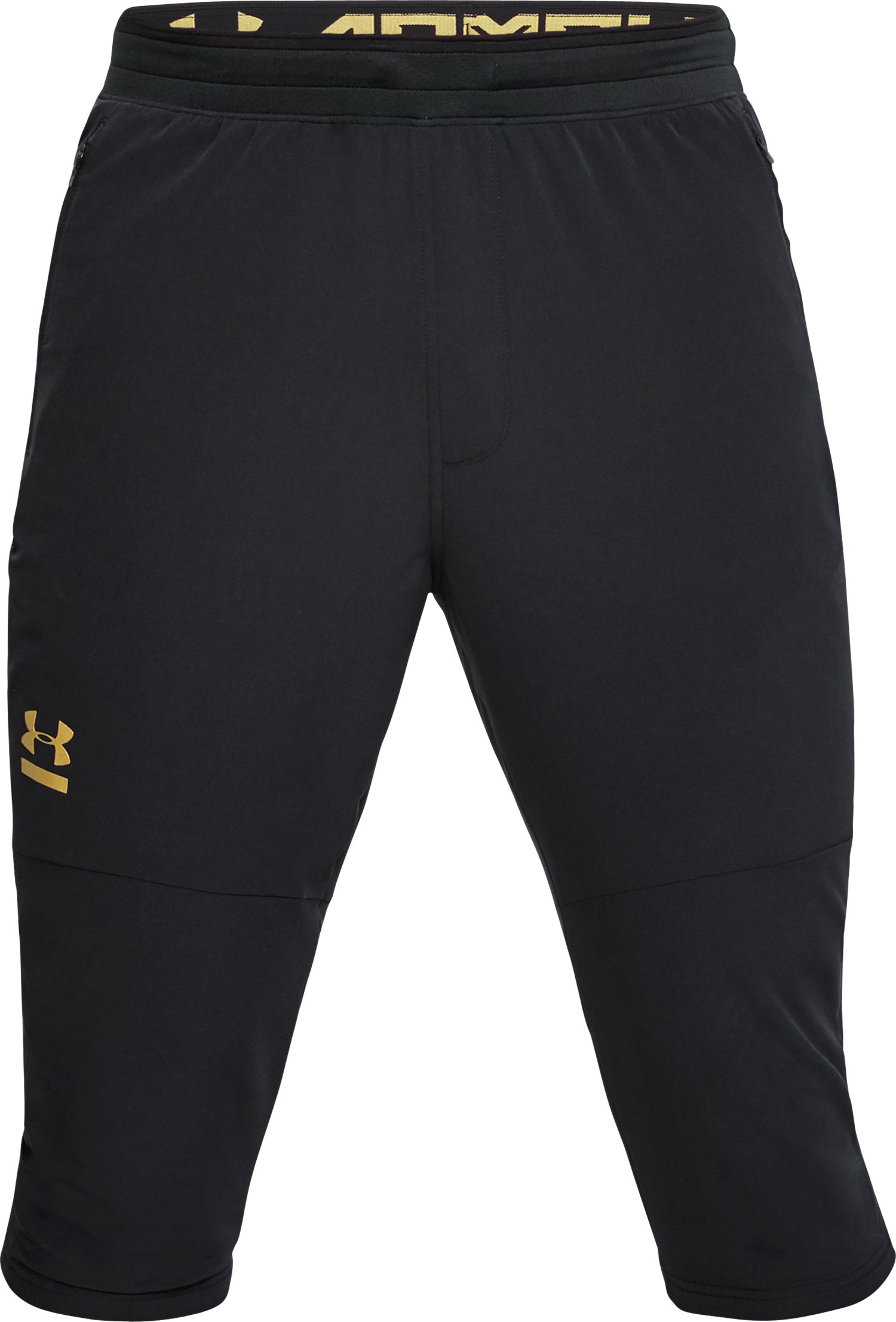 Men's UA Perpetual ¾ Pants, Black ,