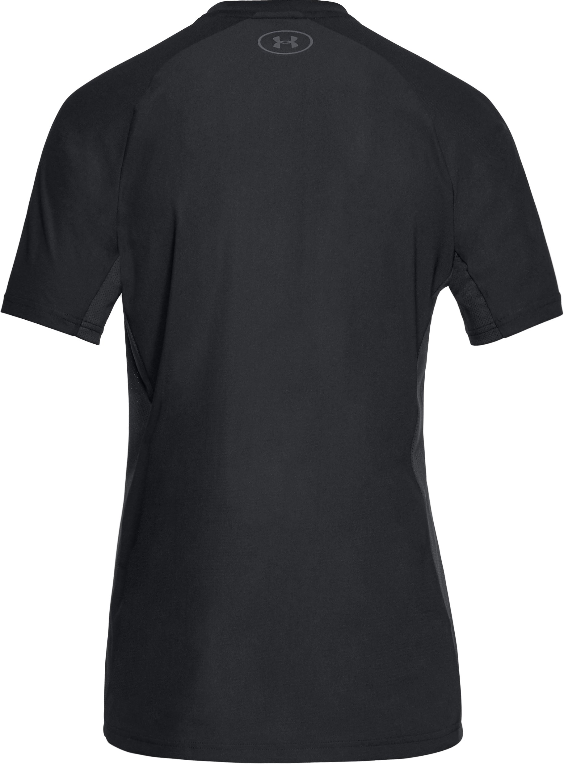 Men's UA Vanish Short Sleeve, Black ,
