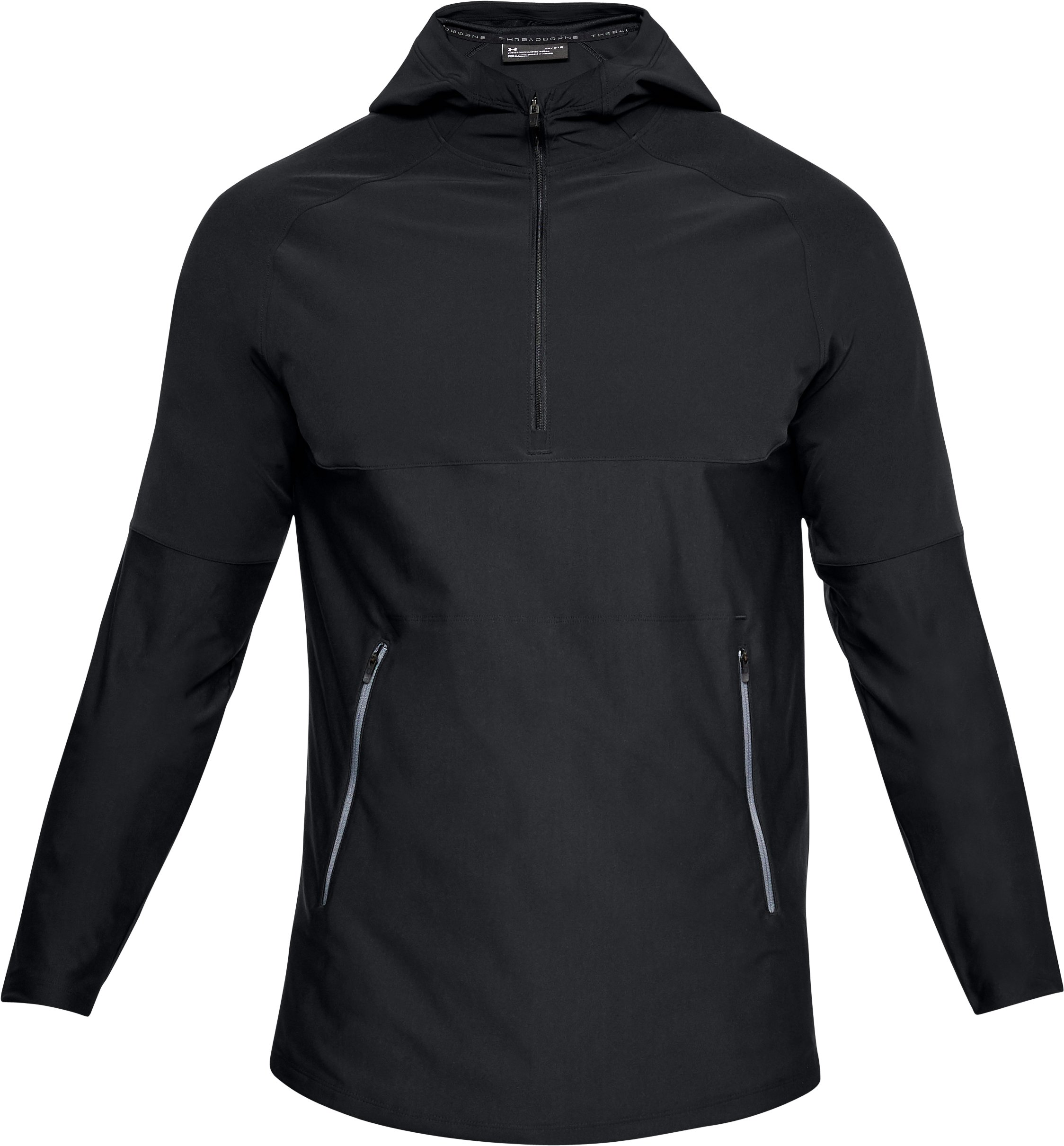 Men's UA Vanish Popover, Black ,