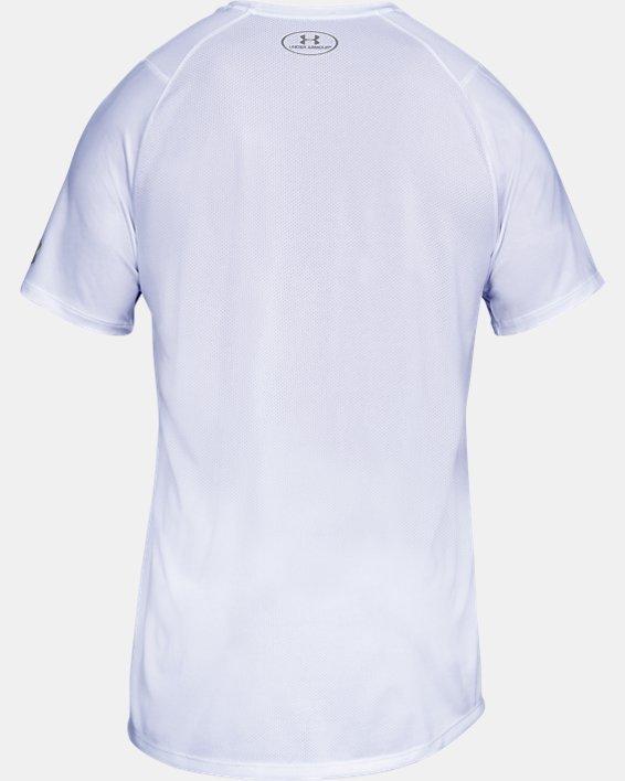 Men's UA MK-1 Short Sleeve, White, pdpMainDesktop image number 4