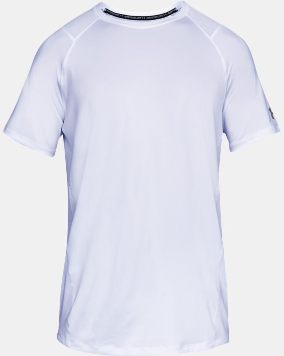Men's UA MK-1 Short Sleeve, White, pdpMainDesktop image number 3