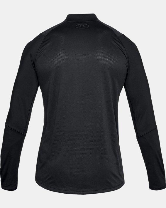 Men's UA MK-1 ¼ Zip, Black, pdpMainDesktop image number 4